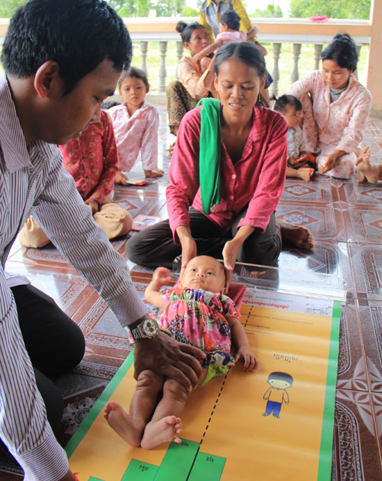 child length mat used in Cambodia